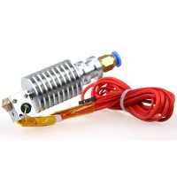 Metal long-distance J-head with the cable for bowden extruder