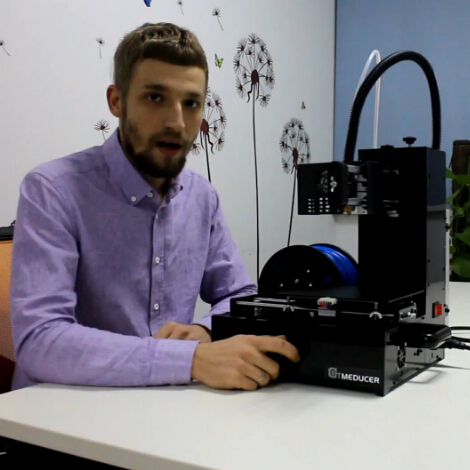 Me Ducer---3D printer, a new printer & new style from geeetech